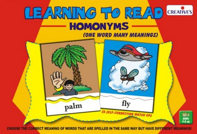 Creative's Puzzles Creative's Learning to Read Homonyms