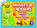Ratnas Snakes & Ladders Floor Puzzle - 60 Pieces
