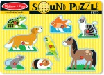 Melissa & Doug Puzzles Melissa & Doug Pets Sound Puzzle