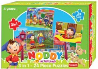 Funskool Noddy 3 In 1 24 Pieces Puzzle (24 Pieces)