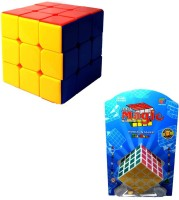 Sunny Cubes Original Stickerless Cube And 4*4 Combo (2 Pieces)