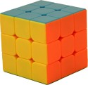 AdraxX 3X3 Extra Smooth Full Colour Rubik's Cube Puzzle - 1 Pieces