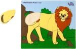 Eduedge Puzzles Eduedge Let'S Complete Picture Lion