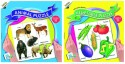 Ratnas Pack Of 2 - Educational Animal & Vegetable Puzzle - PUZDWFW3HFQNKRMA