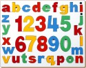 Little Genius English Alphabets And Numbers - 36 Pieces