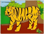 Eduedge Puzzles Eduedge Let'S Complete Picture Tiger