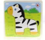 Treasure Trunk Puzzles Treasure Trunk Puzzles Thin Zebra