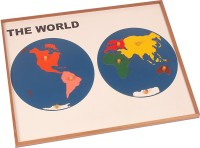 10 off on funskool world map puzzles educational game105 pieces 9 off on kidken montessori map puzzle world gumiabroncs Images
