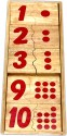 Little Genius Counting Dots - Pairing Set - 10 Pieces