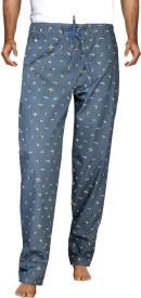 London Bee Men's Printed Pyjama