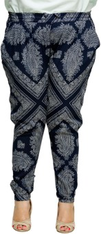 Oxolloxo Plus Size Floral Women's Pants Pyjama (Pack Of 1) - PYJE3QDXCXMXKXZY