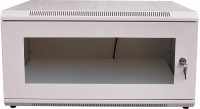 Goodsbazaar DVR Shelf With Locking System Inbuilt LED Light Sockets Switches & Power Cable White Metal Wall Shelf (Number Of Shelves - 1, White)