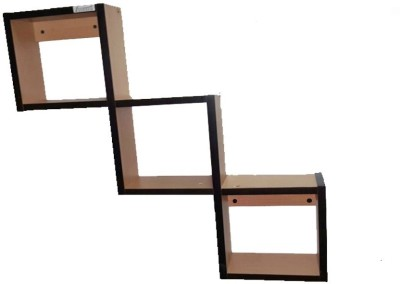 Avatar ZIG ZAG Wall Mounting Particle Board Wall Shelf