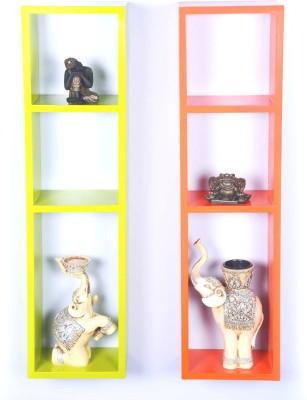 View DCJC Ladder Wall Shelf Wooden Wall Shelf Furniture (Dcjc)
