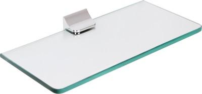 Regis Bathroom Wall Glass 1 - Shelf Rack Stainless Steel, Glass