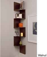 Surya Industries Surya Ind Wall Shelf Set Of 5 Brown MDF Wall Shelf (Number Of Shelves - 5, Brown)