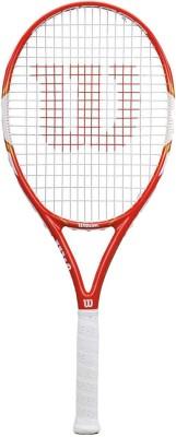 Wilson Federer Team 105 Full Cvr Tennis Racquet 4 3/8 Inch Tennis Racquet (Red, Weight - 350 g)