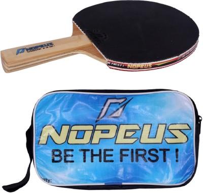 NOPEUS CROSS OVER BLUE Table Tennis Racquet (Black, Red, Weight - 169 g)