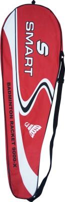 Triumph Smart 9000 Strung Badminton Racquet (Red, White, Weight - 110 g)