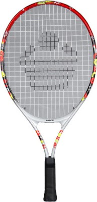 Cosco-23 Tennis Racquet (Silver, Red, Green)
