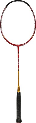 ASHAWAY RUBY G2 Unstrung Badminton Racquet (Red, Gold, Weight - 84 g)
