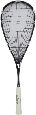 Prince Team Black Original 800 G0 Strung Squash Racquet (Black, Weight - 136 g)