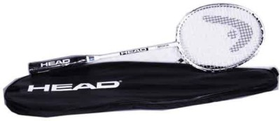 Head Ti Reflex 100 G4 Strung Badminton Racquet (White, Black, Weight - 98 g)