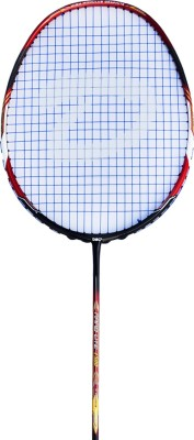 DSC Nano lite 1500 Black/Red/White G4 Strung Badminton Racquet (Black, Red, White, Weight - 85 g)
