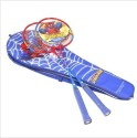 Marvel Spiderman NA Badminton Racquet - Blue, Weight - 300