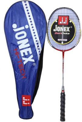 Jonex Best Choice Standard Unstrung Badminton Racquet (Black, Weight - 175 g)