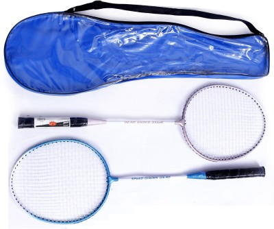 Metro Sports Vivid 4G Strung Badminton Racquet (Blue, Weight - 400 g)