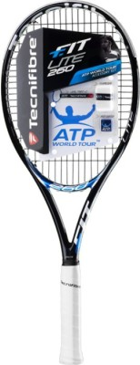 Tecnifibre T-FIT LITE 260 G3 Strung Tennis Racquet (Black, Weight - 260 g)