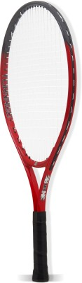 BURN Tornado23 Standard Strung Tennis Racquet (Red, Black, Weight - 225 g)