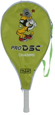 DSC Champs Junior 25 G4 Strung Tennis Racquet (Multicolor, Weight - 270 g)