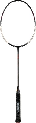 Ashaway Ti100 Limited Edition G2 Unstrung Badminton Racquet (Black, Weight - 84 g)
