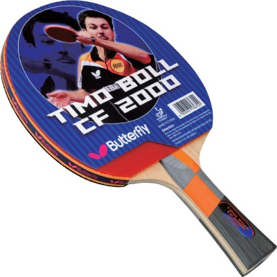 Butterfly Timo Boll CF 2000 Table Tennis Racquet (Weight - 83 g)