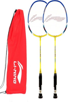 Li-Ning Smash XP60II G4 Strung Badminton Racquet (Multicolor, Weight - 85 g)