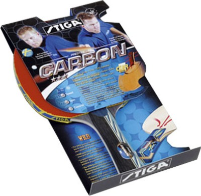 Stiga Carbon CR Table Tennis Racquet (Weight - 95 g)