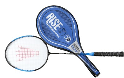 Megaplay RR 3 G4 Strung Badminton Racquet (Blue, Weight - 90 g)