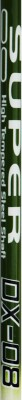 DSC Dx-08 Green/White/Black G4 Strung Badminton Racquet (Green, White, Black, Weight - 85 g)