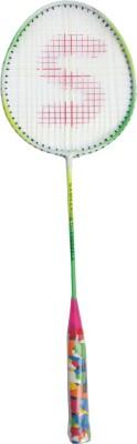 Jayam RANGILA (1 Racket) G4 Strung Badminton Racquet G4 Strung Badminton Racquet (Multicolor, Weight - 120 g)