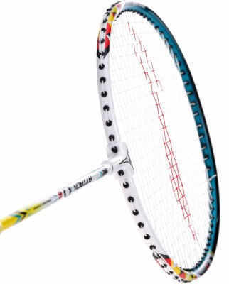 Li-Ning Q6 S2 Strung Badminton Racquet (White, Green, Weight - 85 g)