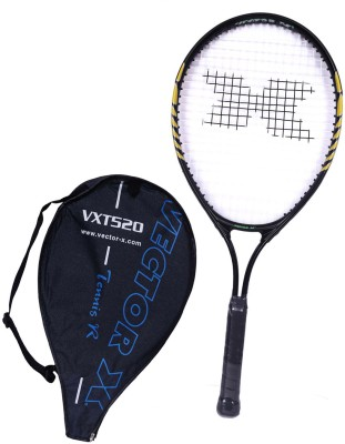 Vector X Vxt 520 25 inches 3# Strung Tennis Racquet (Yellow, Black, Weight - 228 g)
