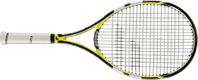 Babolat Pulsion 102 -4 3/8 G3 Strung Tennis Racquet (Black, Yellow, Weight - 270 g)