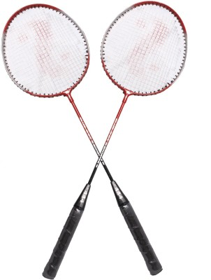 Blue Dot Booster 5 strung Badminton Racquet (Multicolor, Weight - 300 g)