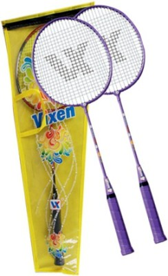 Vixen Happy Kids Gift Set - Juniors 1.25 Strung Badminton Racquet (Multicolor, Weight - 345 g)
