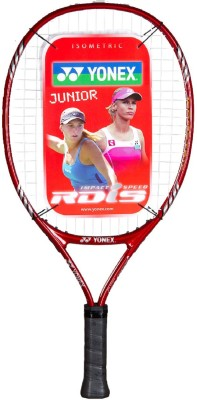 Yonex RDiS 21 G4 Strung Tennis Racquet (Red, Weight - 400 g)