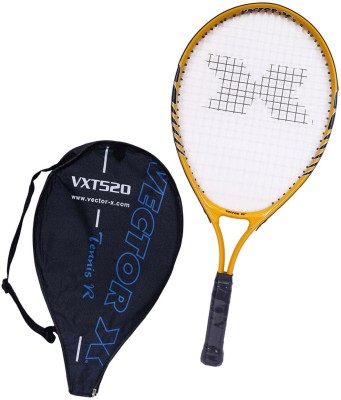 Vector X Vxt 520 23 inches 1# Strung Tennis Racquet (Yellow, White, Weight - 213 g)
