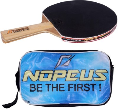 NOPEUS CROSS OVER ORANGE Table Tennis Racquet (Black, Red, Weight - 169 g)
