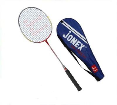 JJ JONEX HITECH Strung Badminton Racquet (Multicolor, Weight - 110 g)
